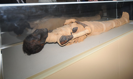 The mummy of Amenhotep II (Source: Ahram Online).