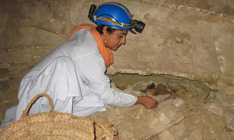 During routine excavations at the dog catacomb in Saqqara necropolis, an excavation team led by Salima Ikram, professor of Egyptology at The American University in Cairo (AUC), and an international team of researchers led by Paul Nicholson of Cardiff University have uncovered almost 8 million animal mummies at the burial site (Source: Ahram Online).