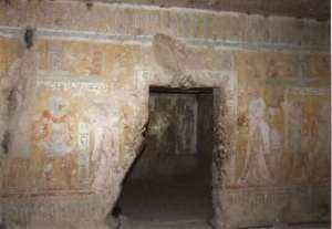 Entrance to the tomb of Tyti (Source: ArchaeoAdventures).
