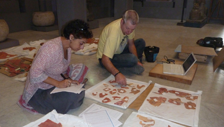 Salima Ikram is working with an international team to reconstruct a replica of the chariot using ancient Egyptian technology (Source: news@auc).
