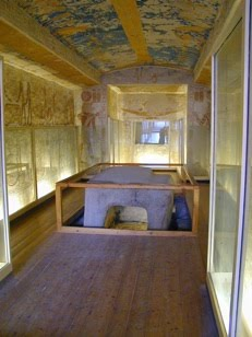 View of the burial chamber of KV1 (Source: Luxor News).