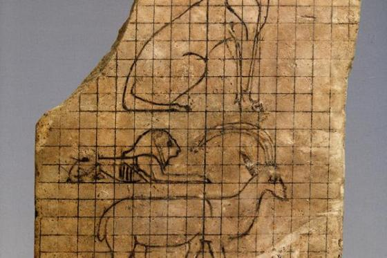 A trail-blazing exhibition at the Louvre in Paris focuses on ancient Egyptian drawing (Source: Al-Ahram Weekly).