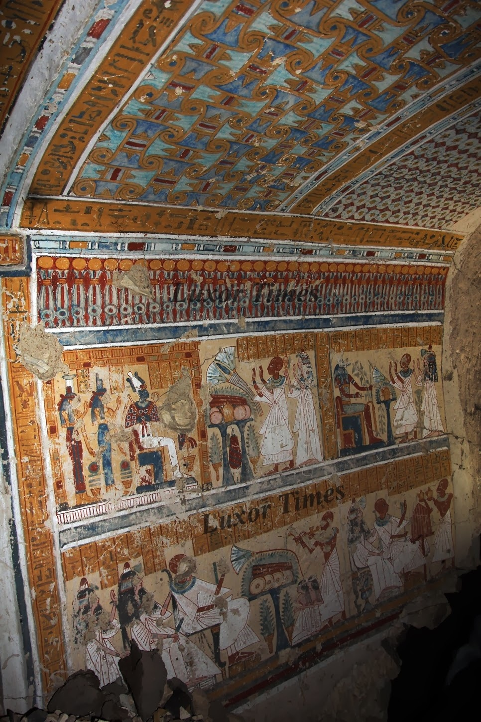 NEWS: Tomb of chief beer-maker discovered in Egypt's Luxor ...
